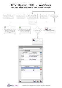 RTV Xporter PRO Workflows2