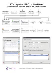 RTV Xporter PRO Workflows3